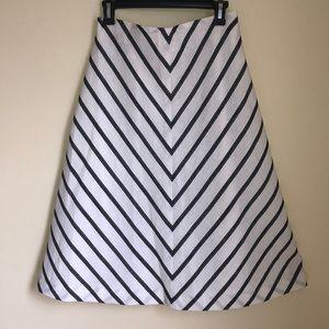 Talbots linen maxi skirt